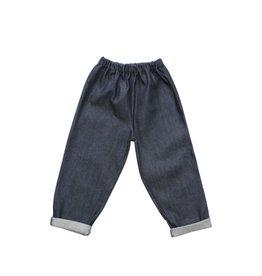 PIPPINS DENIM / Kids Jeans indigo blue with back pocket