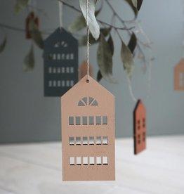 PAPURINO / Häuser-Holzdeko