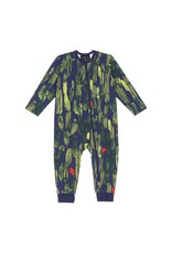 Baby Jumpsuit Oasis green-colored