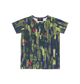 AARRE / Kids t-shirt Oasis green-colored