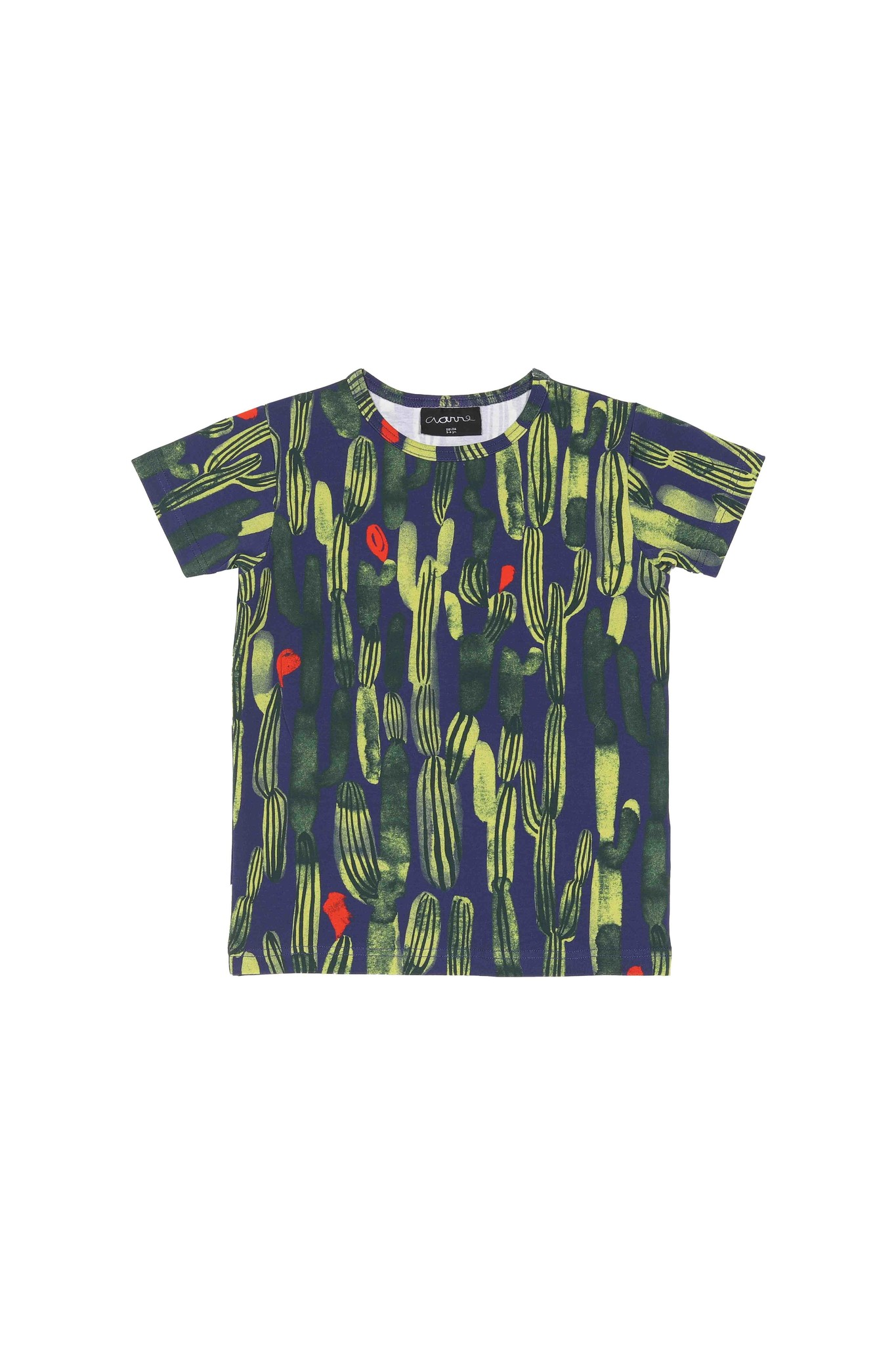 Kids t-shirt Oasis green-colored