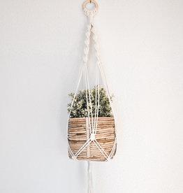 """BLUSH BOHO / Macramé hanging basket """"Gamma"""""""