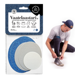 "Vaatelaastari / FabPatch Set of 5 ""Arki"""