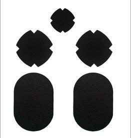 "Vaatelaastari / FabPatch 5er Set ""Yönmusta"""