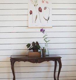 PAPURINO / Magnetic poster board 31 cm in oak