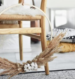 PAPURINO / Wreath ring made of birch wood