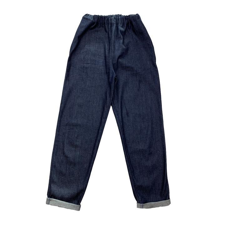 Adult jeans indigo blue