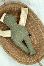 Puppe  grün-weissfarben 40 cm