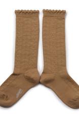 """Kinder Socken """"Juliette"""" karamellfarben"""