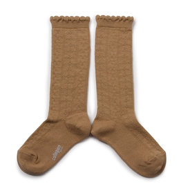 "COLLÉGIEN / Kinder Socken ""Juliette"" karamellfarben"