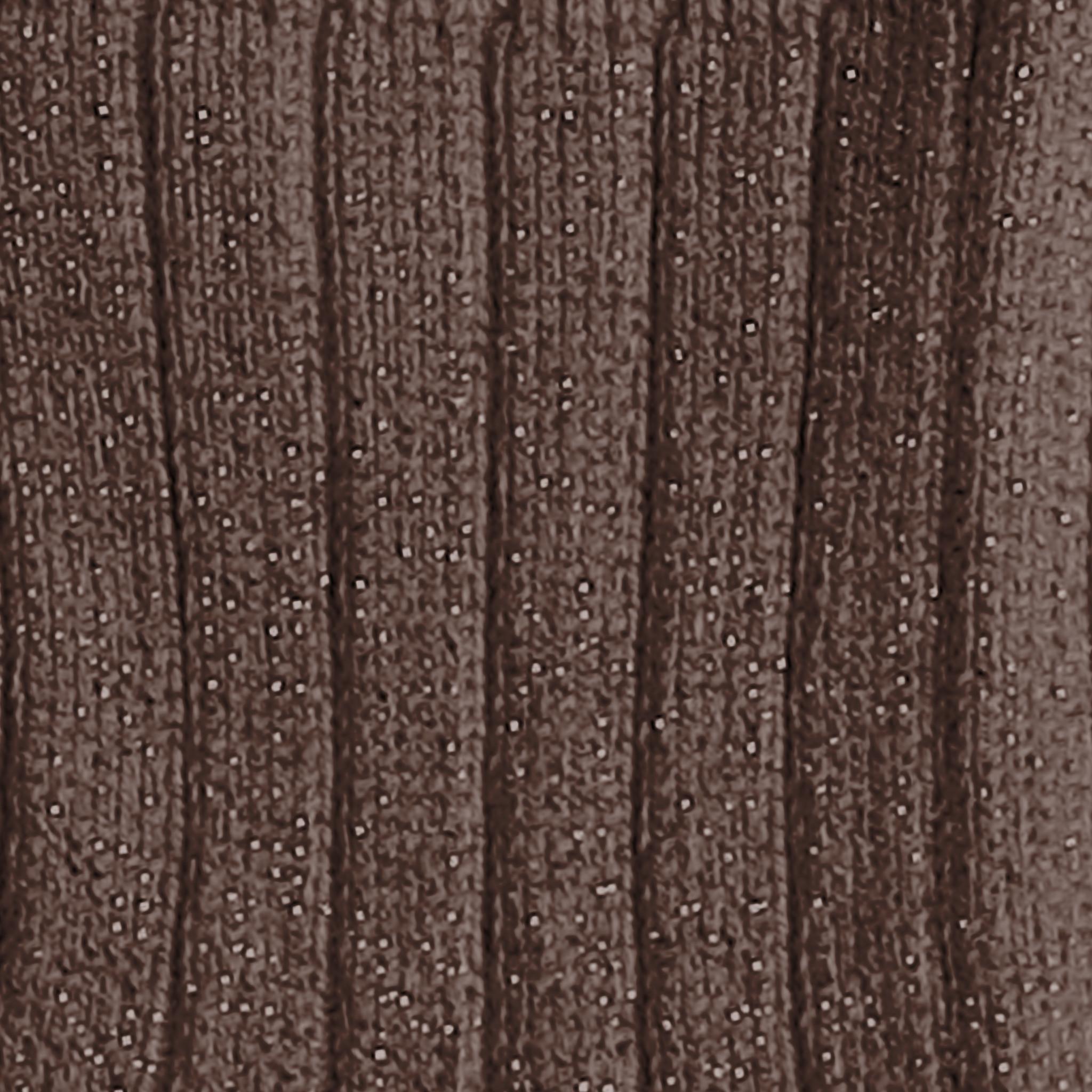 """Glitzernde gerippte Socken """"Victoire"""" braunfarben"""