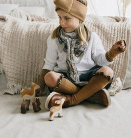 COLLÉGIEN / Merino Wool headband Chocolat au Lait