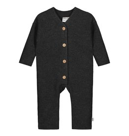 MAINIO CLOTHING / Merinowolle Baby Overall mit Knopfbefestigung