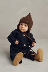 Merinowolle Baby Overall mit Knopfbefestigung