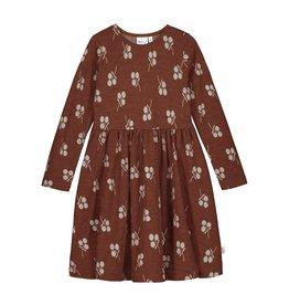 MAINIO CLOTHING / Merinowolle Kleid mit Jacquard-Muster