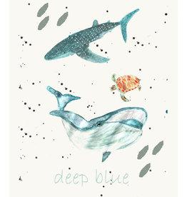 "MONTSCHITCHI/ Poster ""Deep blue"""