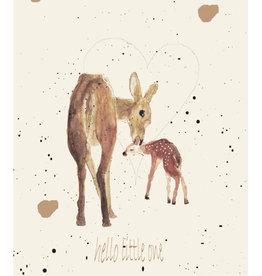 """MONTSCHITCHI/ Poster """"Hello little one"""""""