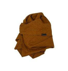 HULMU / Couverture en lin pour bébé Cinnamon 80 x 120 cm