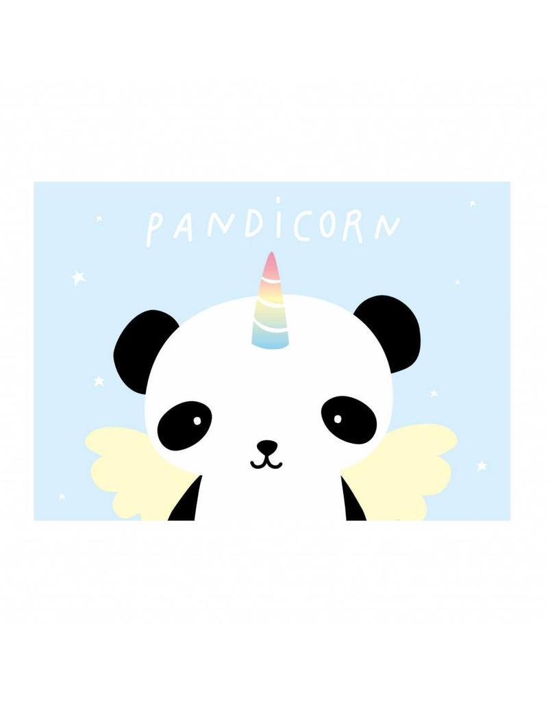 Postkaart pandicorn