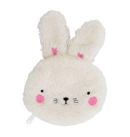Portemonneetje fluffy konijn