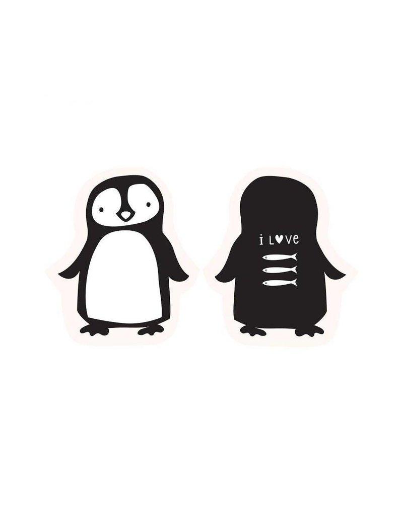 Kussen pinguïn