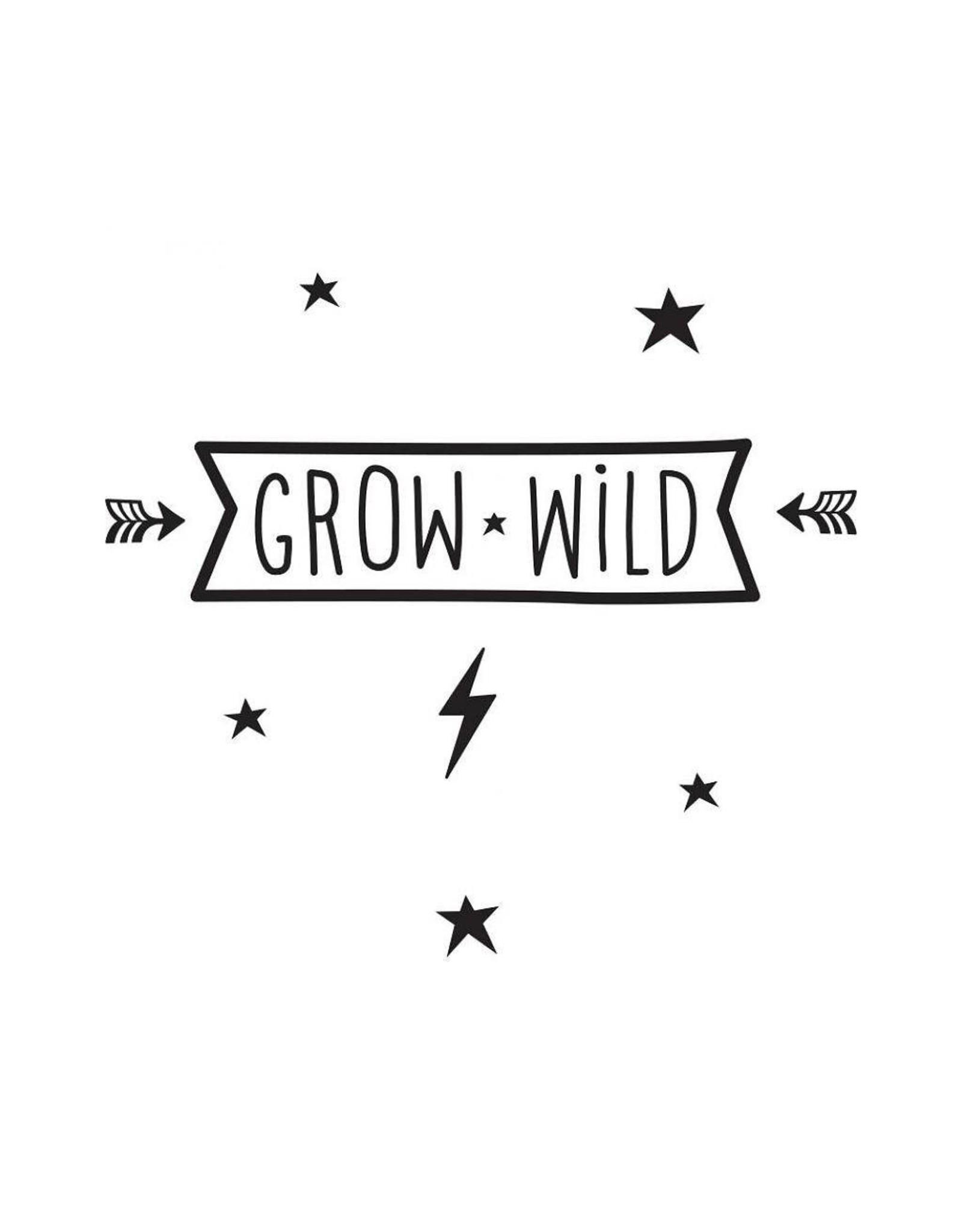 Muursticker grow wild