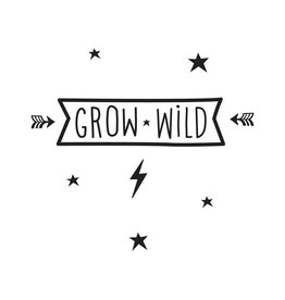 Muursticker grow wild