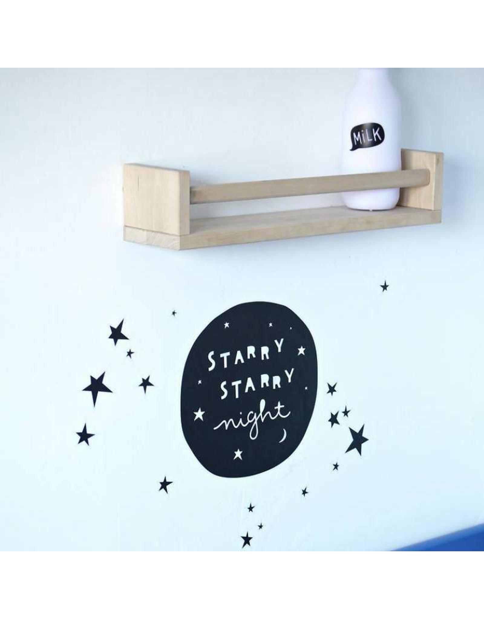 Muursticker starry night