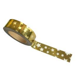 washi tape goud sterren