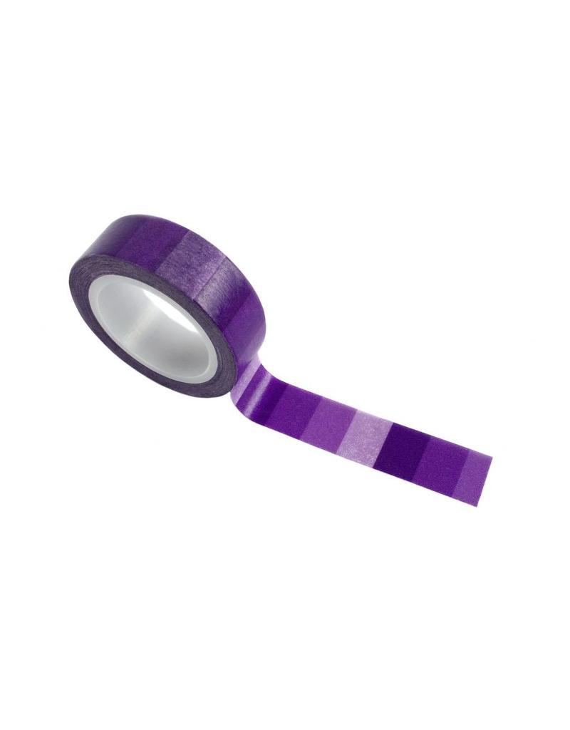 washi tape paars verloop