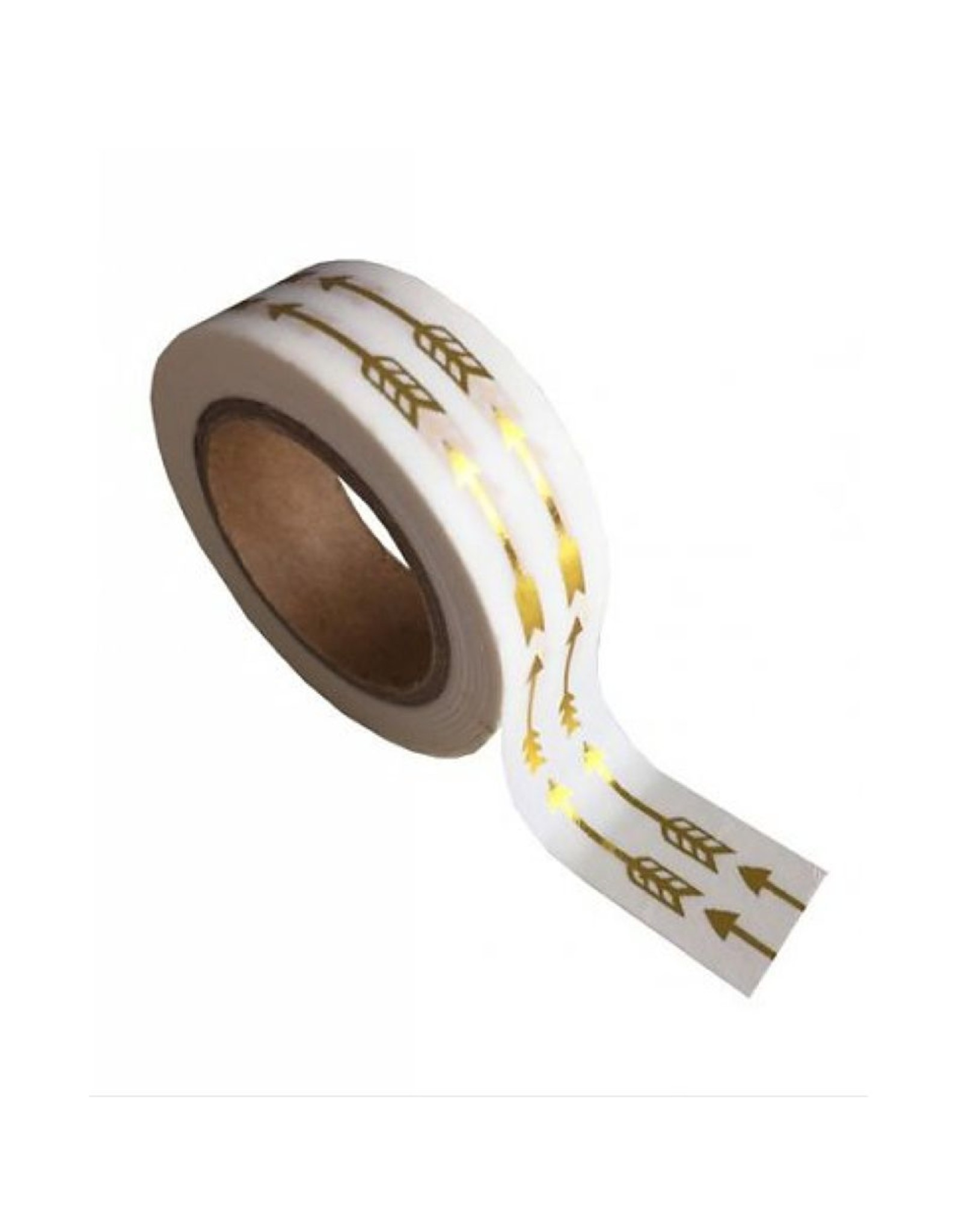 washi tape wit / goud pijl