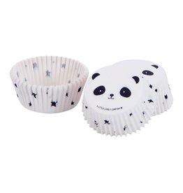 Cupcake-vormpjes panda