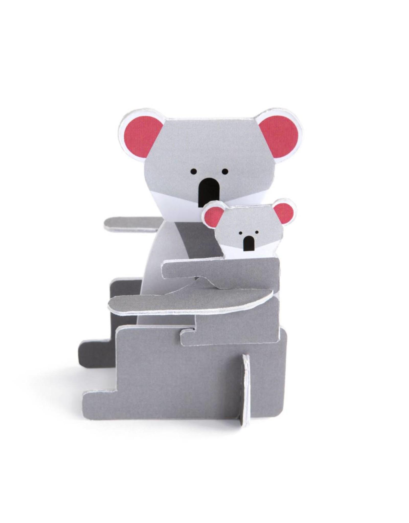 3D kaart Koala