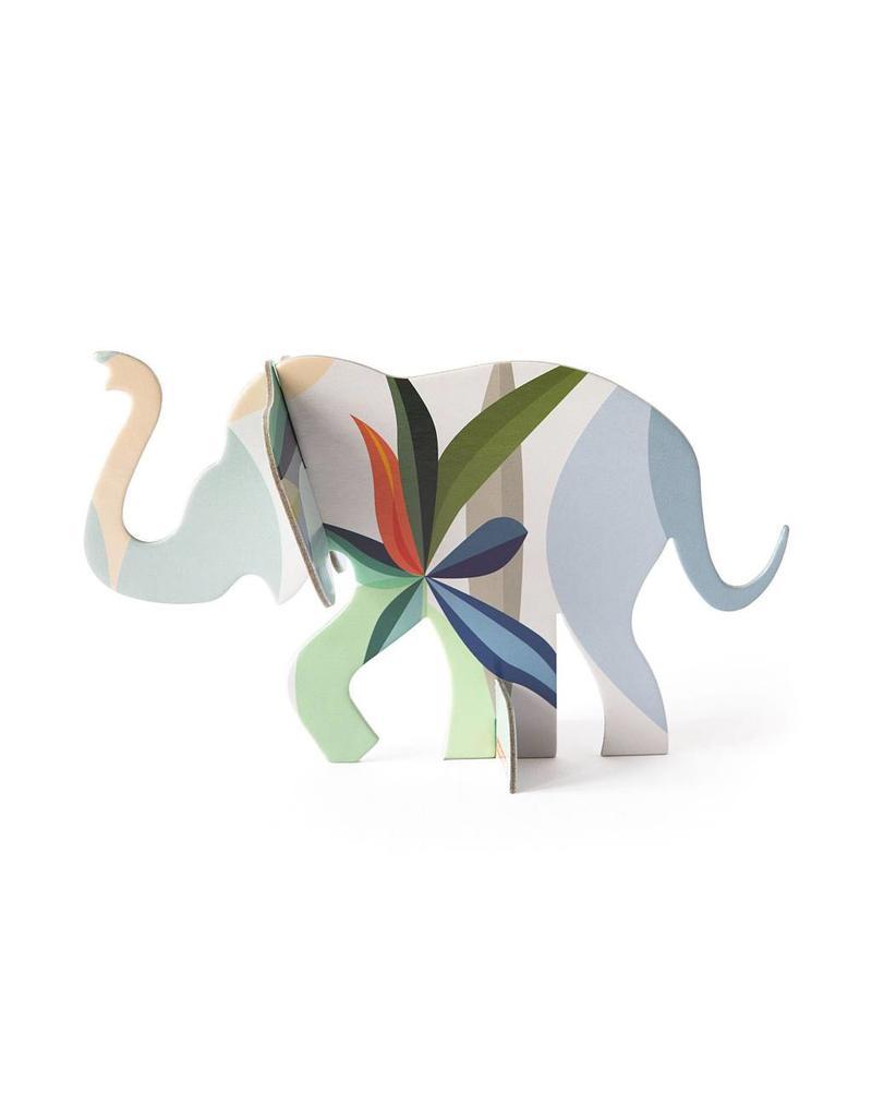 3D kaart olifant