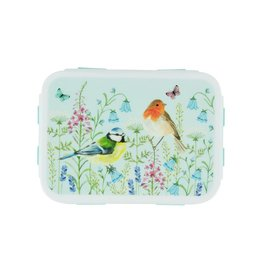 Brooddoos clips vogels