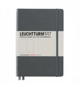 Leuchtturm hard cover antraciet
