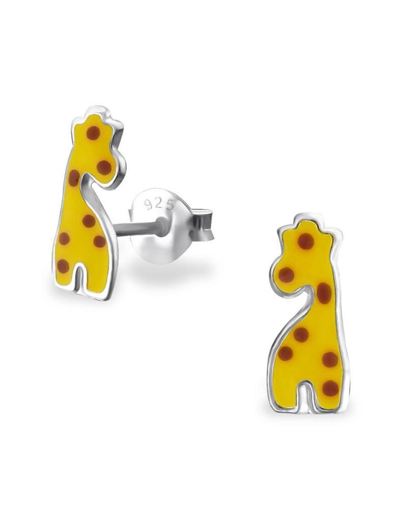 Stekertjes zilver giraf