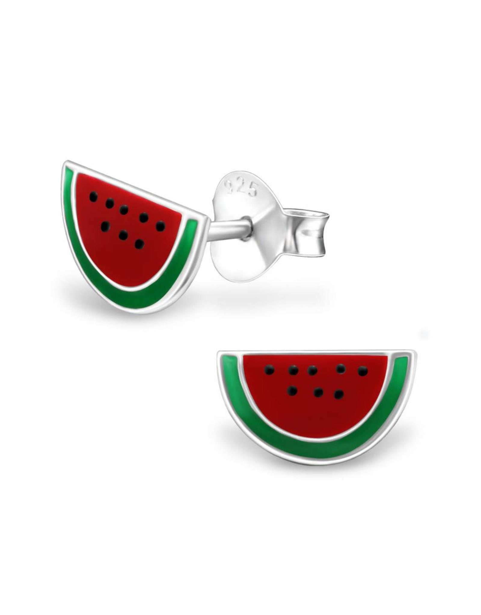 Stekertjes zilver watermeloen