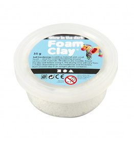 Foam Clay® 35g glow in the dark