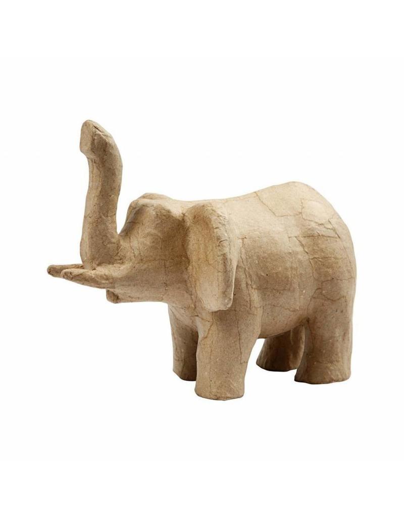 Papier-maché olifant