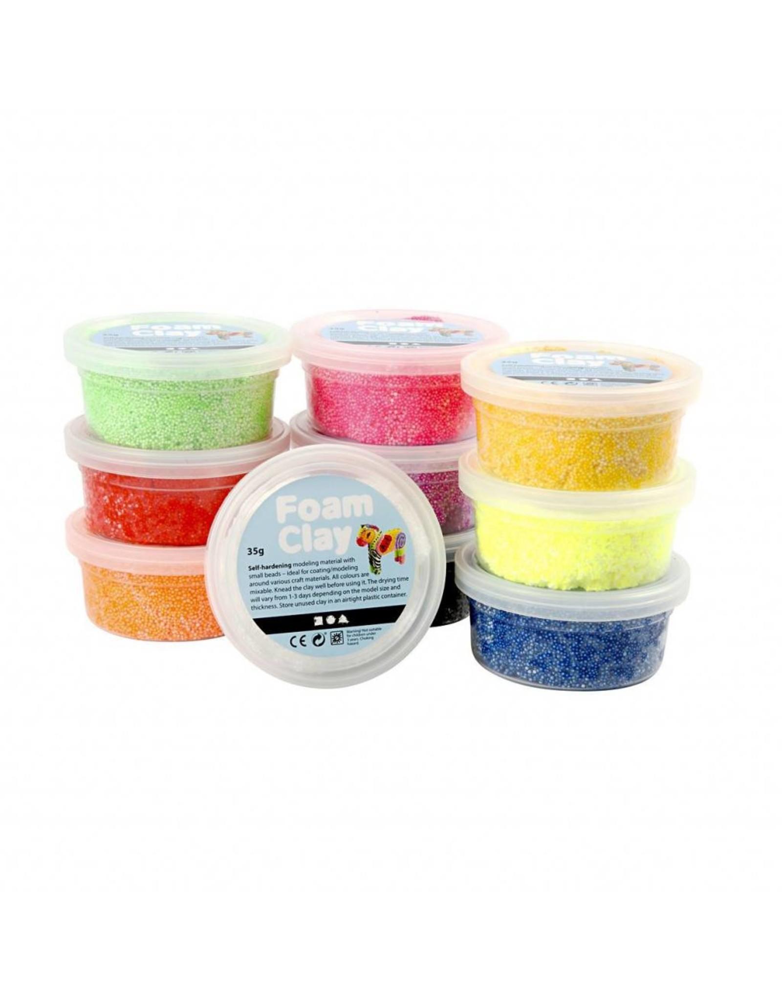 Foam Clay® 10x35g set basic