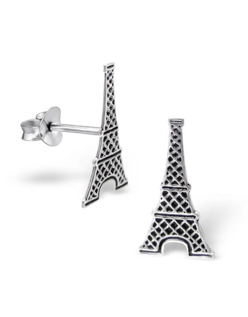 Stekertjes zilver Eiffeltoren