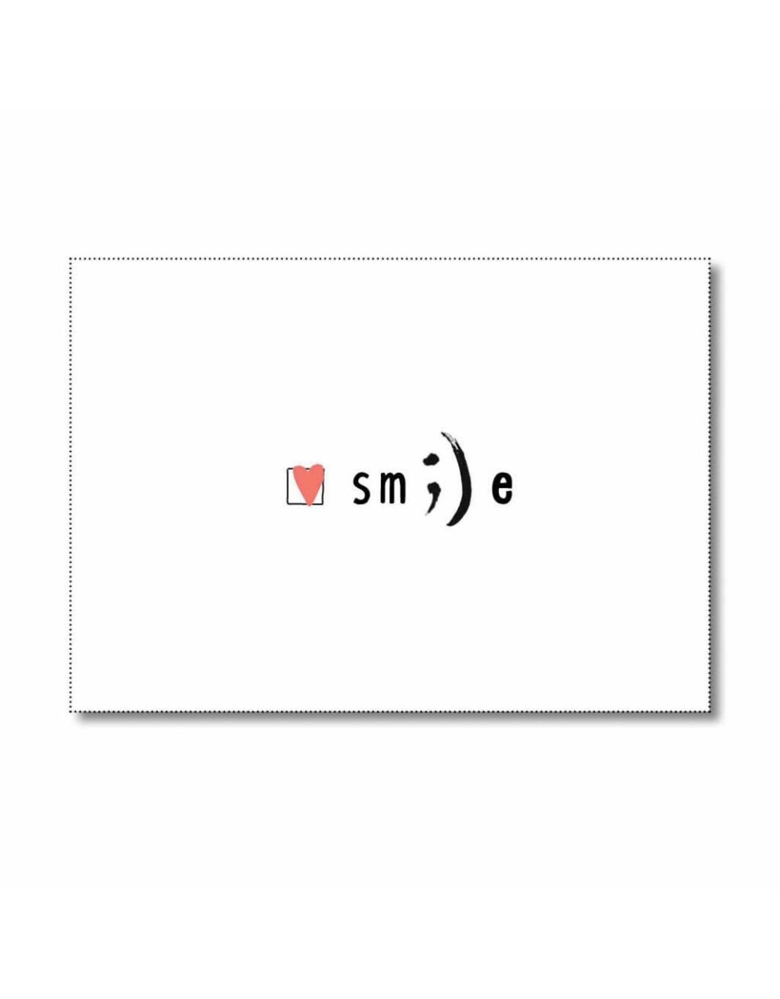 Postkaart Smile :-)