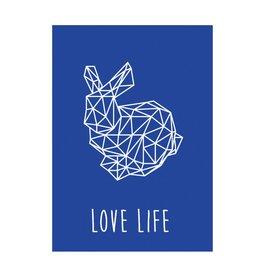 postkaart Love life