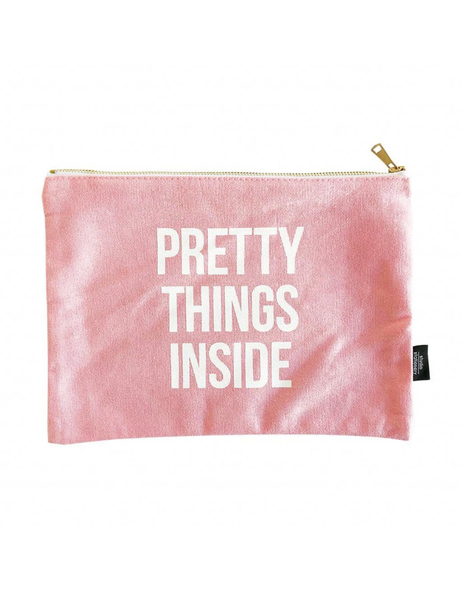 Canvas etui Pretty Things Inside