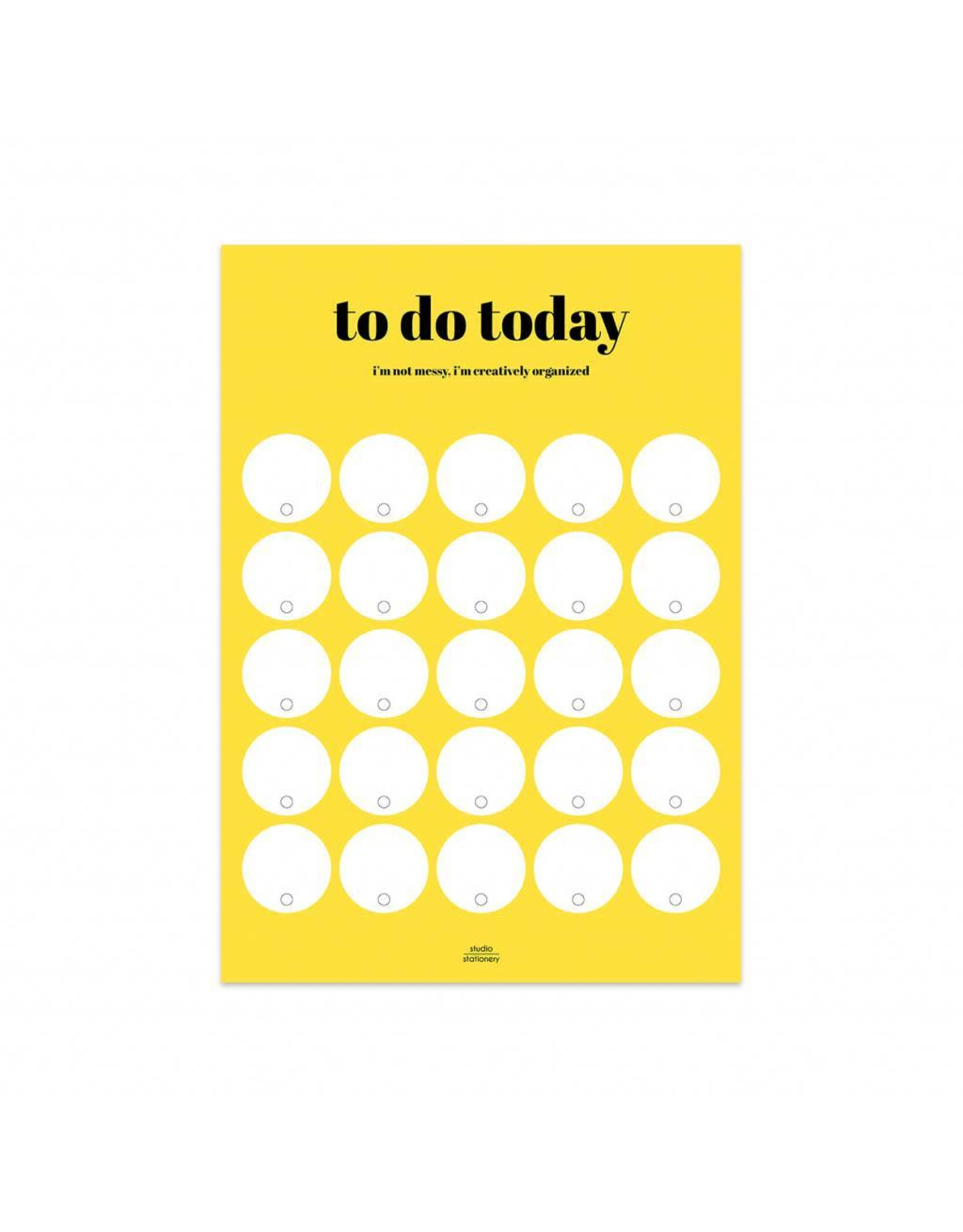 Planner To do today