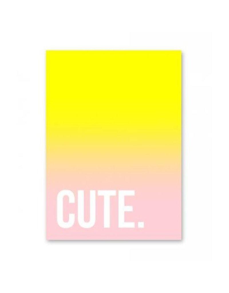 postkaart Cute