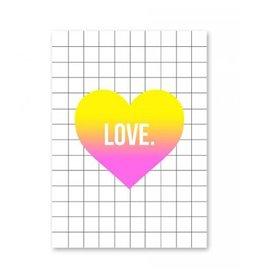 postkaart Love
