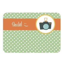 Postkaart Smile!