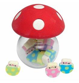 Gommetjes paddenstoel